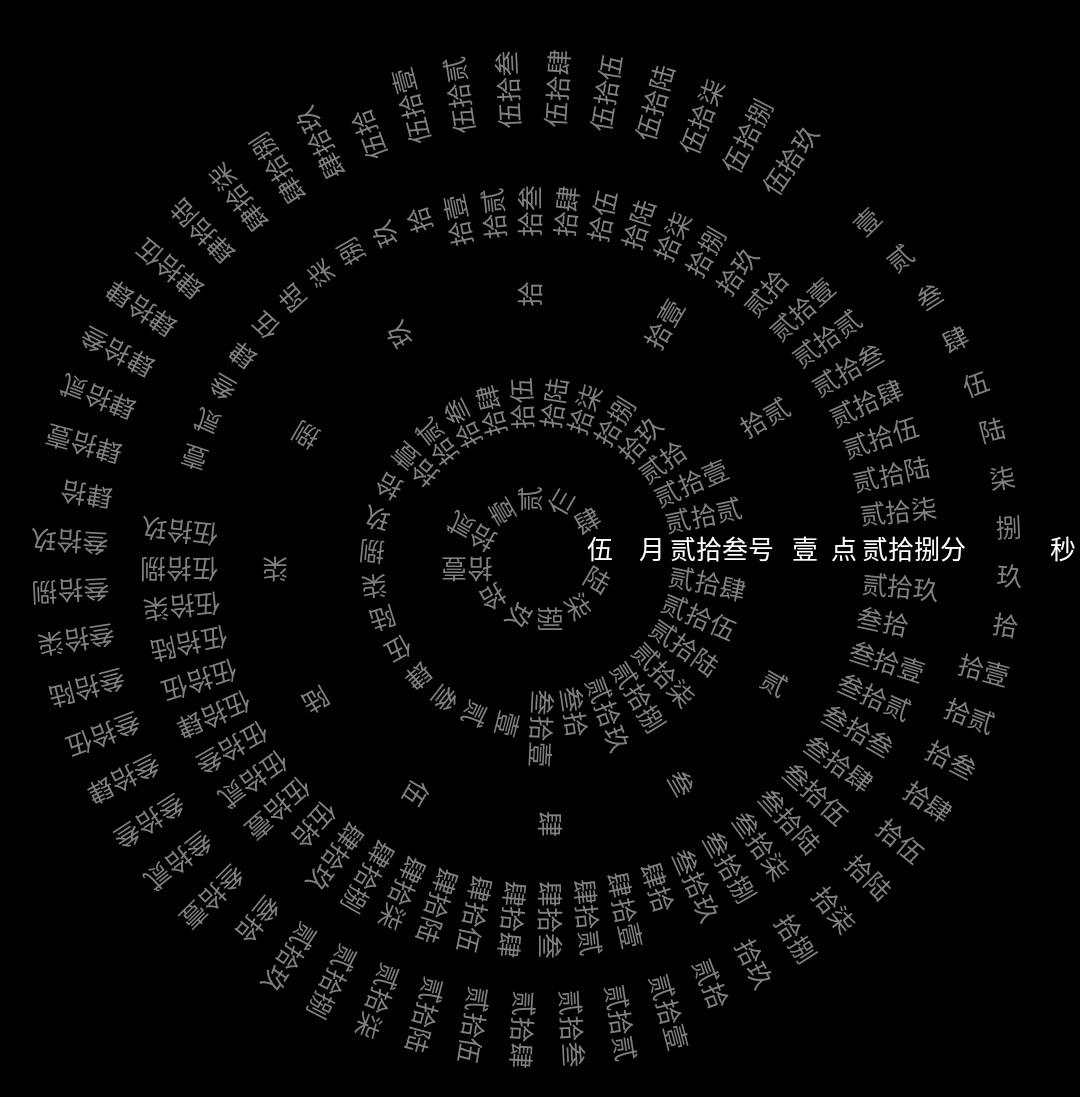 火爆抖音的抖音网红八卦时钟免费下载,附送抖音静默时钟!